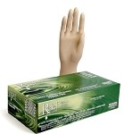 Relief™ Aloe coated Powder free Latex exam glove RXL-series