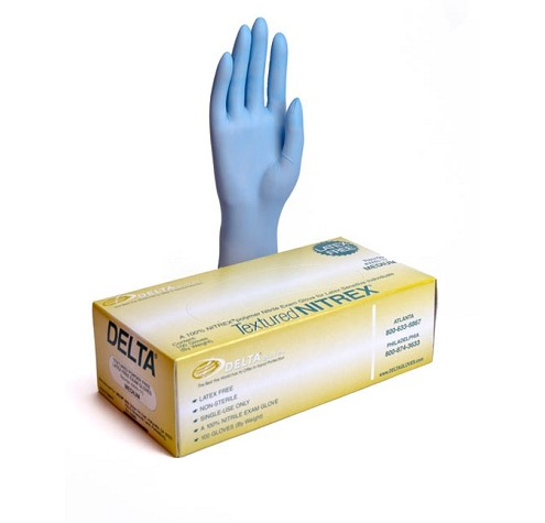 Blue Powder free Nitrex™ exam glove  WIN-series